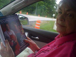 Mom (Patsy Flattery) from Mom's Gourmet Spice and Seasoning Company